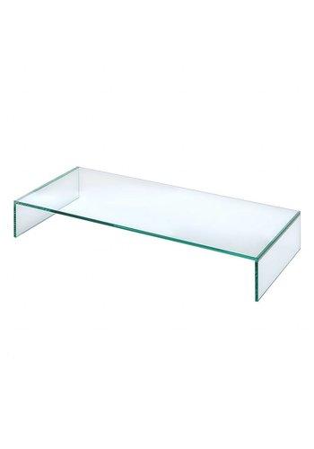 Neckermann Glas meubel - tv tafel - 15x80  cm