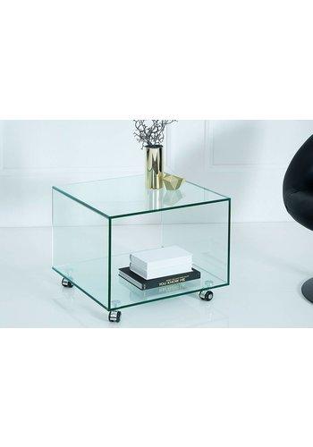 Neckermann Glas meubel - hoektafel - 40x33,5 cm