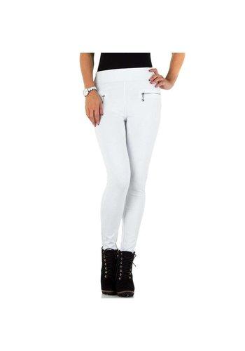 Neckermann Pantalon pour femmes par Daysie Jeans - blanc