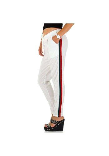 HOLALA Pantalon femme Holala - blanc