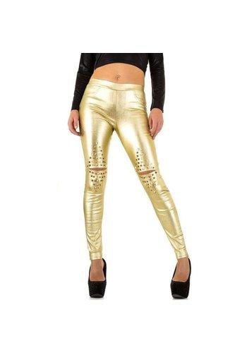 Neckermann Damen Hose - golden