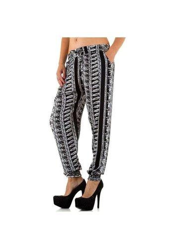 HOLALA Dames broek van Holala - zwart/wit
