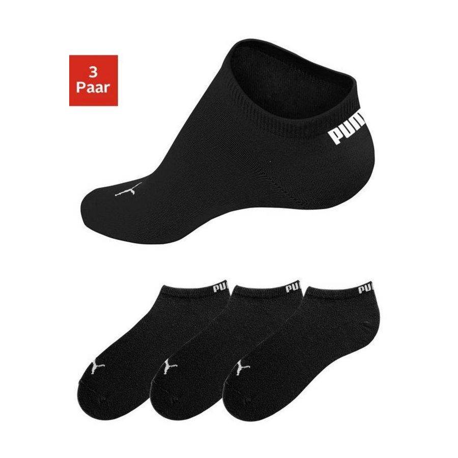 fea4e972b9010d Invisible Unisex Sneaker Sokken - 3 Pack zwart - Neckermann.com