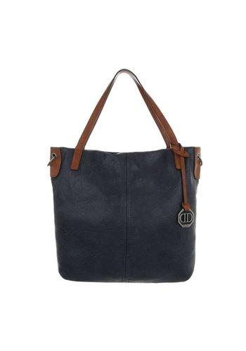 Neckermann Damen Shopper-blue