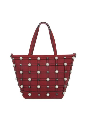 Neckermann Dames Shopper - rood