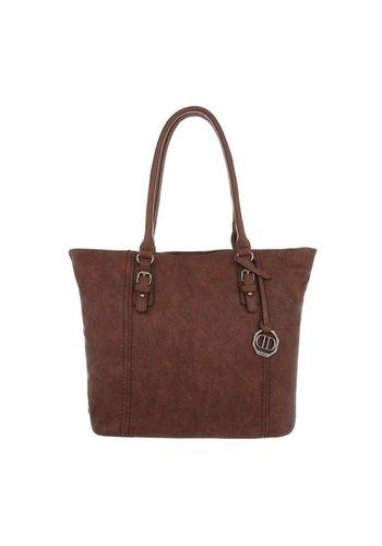 Neckermann Damen Shopper-brown