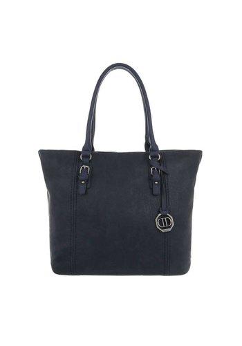 Neckermann Dames Shopper-donkerblauw