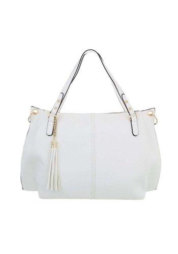 Neckermann Damen Shopper-white