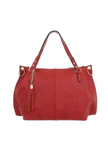 Neckermann Damen Shopper-red