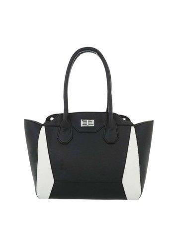Neckermann Damen Handtasche-blackwhite