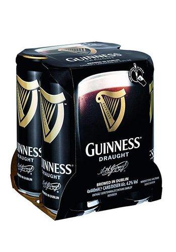 Guinness Pack de 4 bières en boîte - 4x44cl