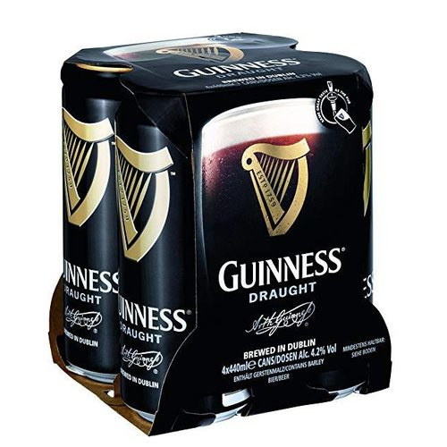 Guinness Bier 4-pack in blik  - 4x440ml