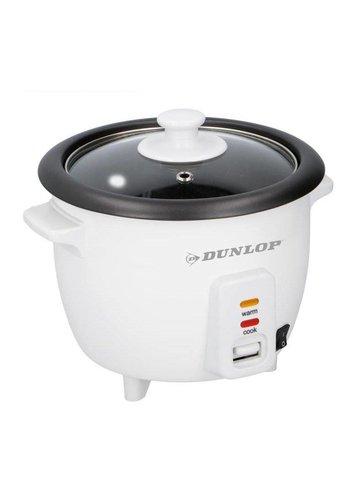 Dunlop Cuiseur à riz - 0.6L - 300W - 21x21x18cm