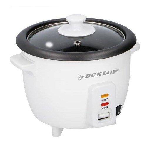 Dunlop Reiskocher - 0,6 l - 300 W - 21 x 21 x 18 cm