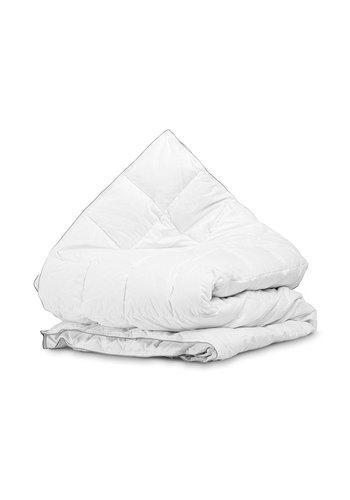 Sleeptime Velvet Half Dons 4-Seizoenen Dekbed White