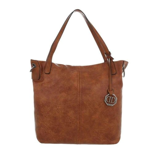 Neckermann Damen Shopper-brown