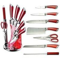 Set de couteaux avec standard - 8 pièces - acier inoxydable