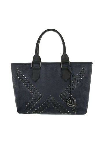 Neckermann Dames Shopper-blauw