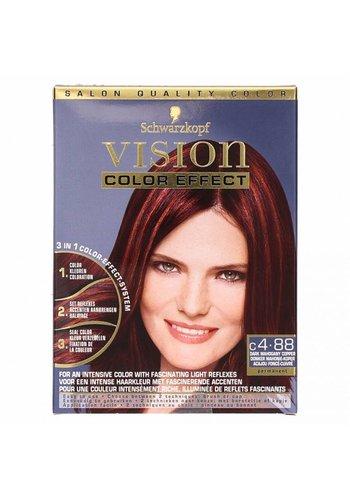 Schwarzkopf Vision Color Effect Donker Mahonie-Koper