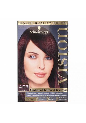 Schwarzkopf Vision Salon Color Creme Aubergine