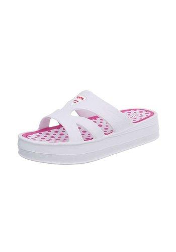 Neckermann Slippers voor dames - wit