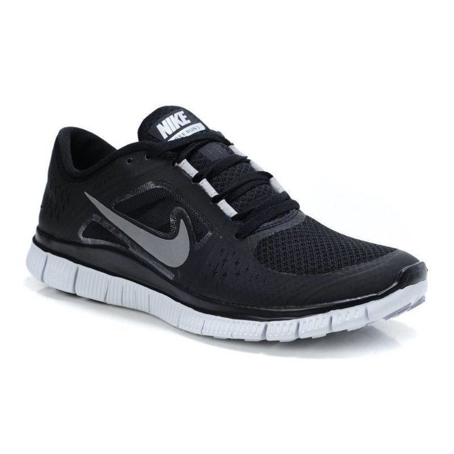 hot sale online fd2fd 31d76 Free Run 3 mens running - zwart-zilver