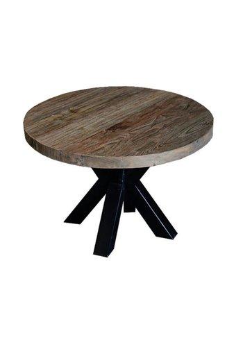 Neckermann Table basse - bois de teck - 42x60x60 cm