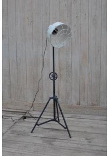 Neckermann Vloerlamp - gietijzer - 107x31x31 cm