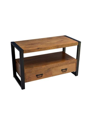 Neckermann TV-meubel - mango  hout - 60x45x100 cm