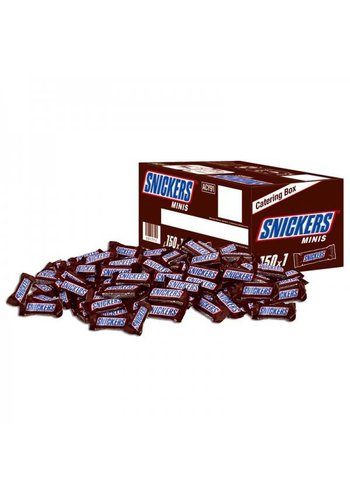 Snickers Minis 150 pièces