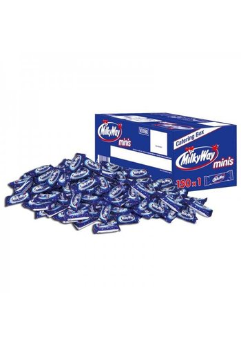 Milky Way Minis 150 Stücke