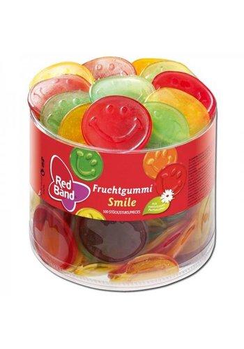 Red Band Winegum Smiles 100 Stuks