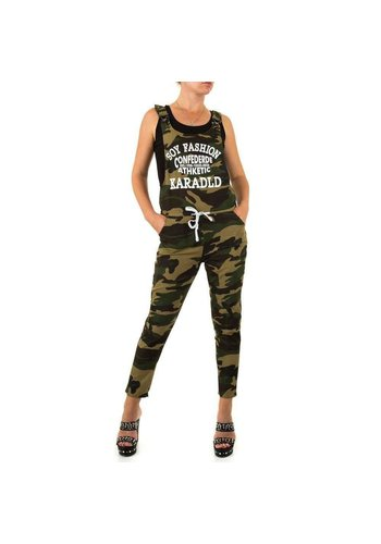 Neckermann Damesbroek van Realty Jeans - legergroen