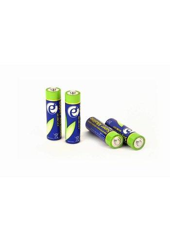 Energenie Alkalische AA-Batterien, 4er-Pack