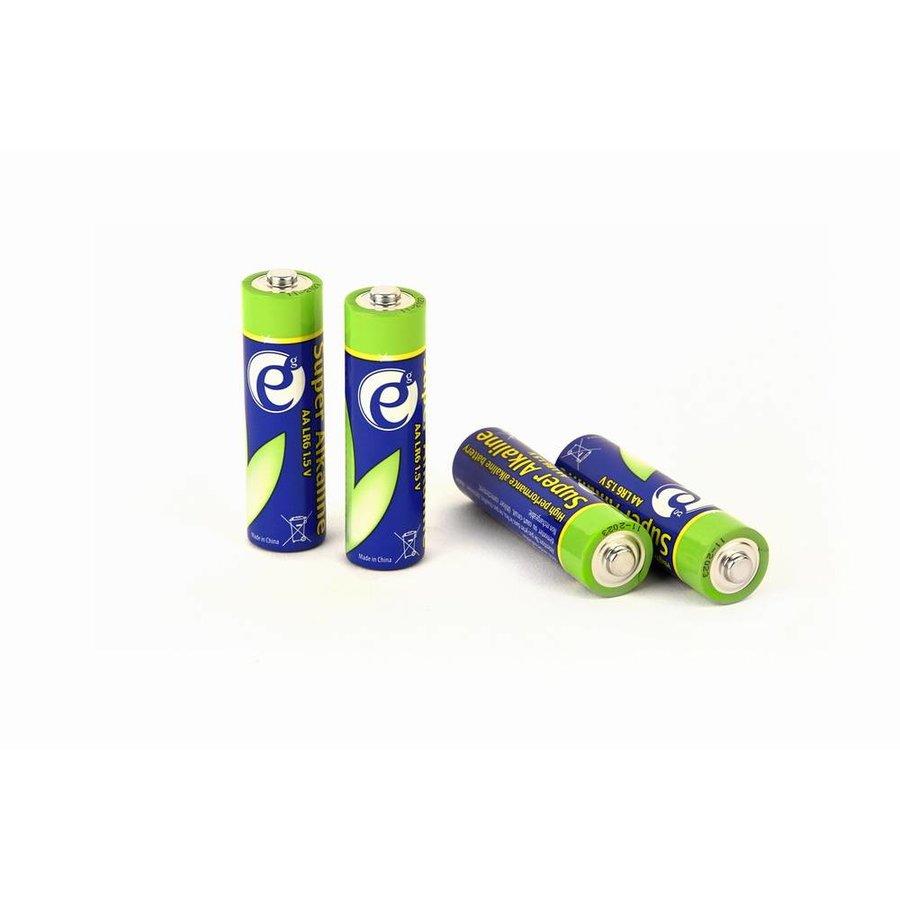 Alkalische AA-Batterien, 4er-Pack