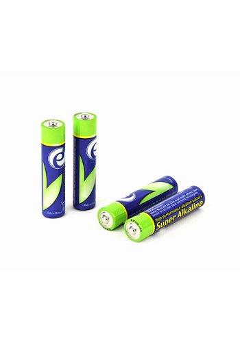 Energenie Alkaline AAA batterijen, 4 stuks