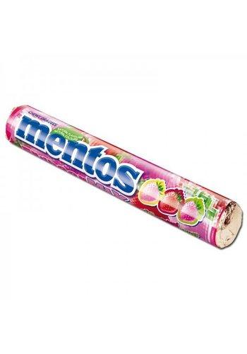 Mentos Erdbeermischung - 1 Rolle