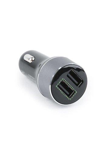 Energenie Dual-Port USB-Kfz Schnellladegerät, schwarz