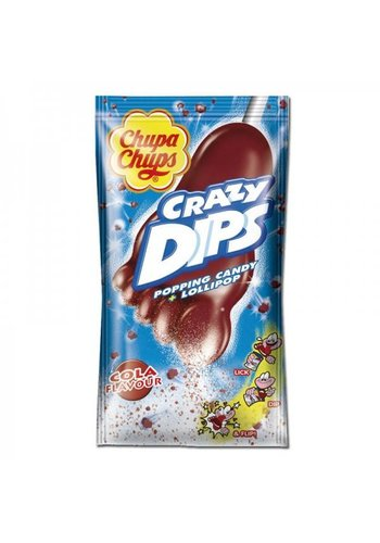 Chupa Chups Crazy Dips Cola 1 pièces