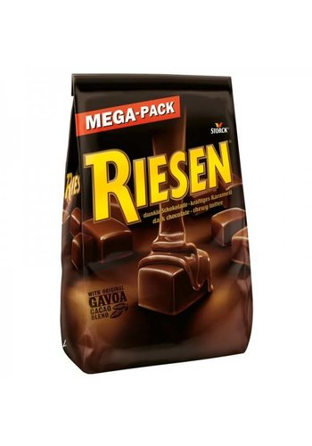 Riesen Choco Caramel Toffee pur 900 grammes