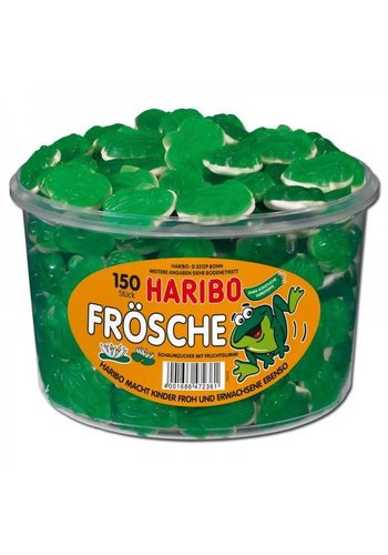 Haribo Grenouilles 150 pièces