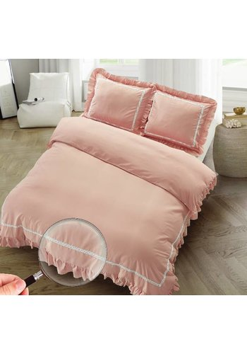The Supreme Home Collection The Supreme Home Collection Rabbi 240x200/220 +2*60x70cm Old Pink