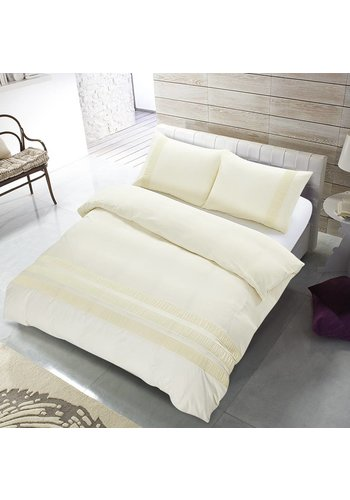 The Supreme Home Collection Dekbedovertrek The Supreme Home Collection Avenza Creme
