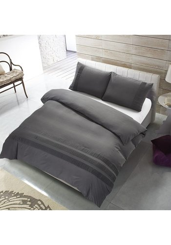 The Supreme Home Collection Dekbedovertrek The Supreme Home Collection Avenza  Anthracite