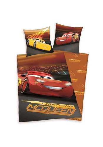 Disney Dekbedovertrek licentie Cars2 On the Track