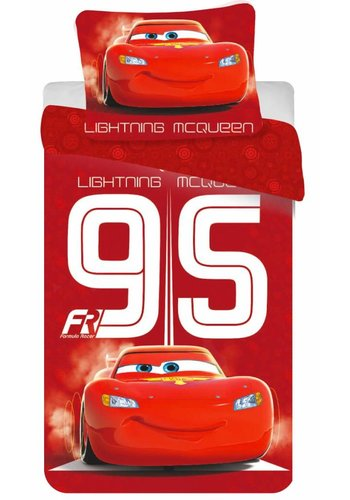 Disney Dekbedovertrek Licentie Cars2 Lightning mc queen 140 x 200