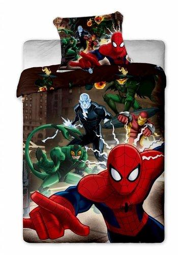 Marvel Dekbedovertrek Licentie Spiderman Action 140 x 200