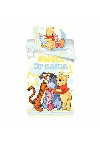 Disney Dekbedovertrek Licentie Winnie the Pooh Sweet Dreams 140 x 200