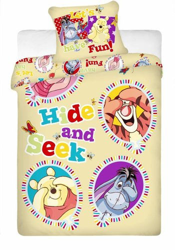 Disney Dekbedovertrek  Winnie the Pooh Balloon 140 x 200