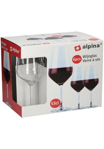 Alpina Weinglas - 53cl - 6 Stück